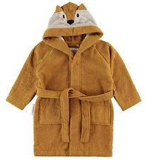 Liewood Bathrobe - Lily - Fox Mustard