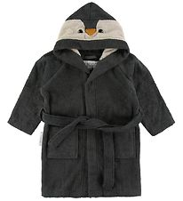 Liewood Bathrobe - Lily - Penguin Stone Grey