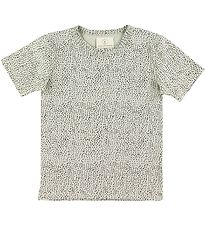 Gro T-shirt - Tune - Salt w. Dots