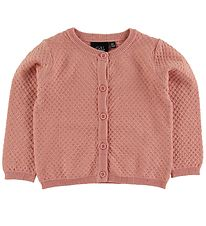 Petit by Sofie Schnoor Cardigan - Isabella - Dusty Rose