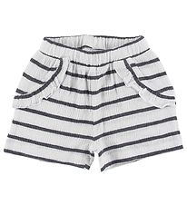 Name It Shorts - NbfHollie - Dark Sapphire w. Stripes