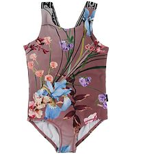 Molo Gymsuit - Orchid - Motion Flowers