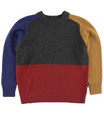 Molo Jumper - Knitted - Buzz - Primary