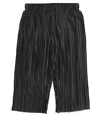 Molo Trousers - Aliecia - Black w. Rib