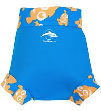 Konfidence Swim Diaper - NeoNappy - Cyan/Clownfish