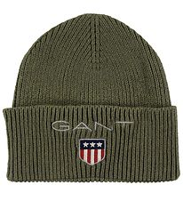 GANT Hat - Knitted - Medium Shield - Sea Turtle