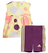 adidas Performance Set - Summer Set - Yellow Tint/Glory Purple
