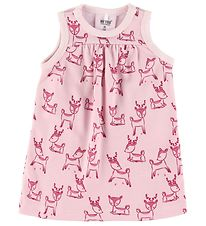 Me Too Dress - Wool - Parfait Pink with Animals