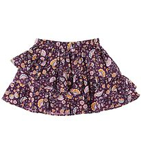 Soft Gallery Skirt - Ginny - Port Royale w. Flowers