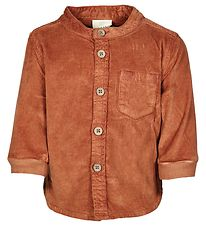 En Fant Shirt - Corduroy - Leather Brown