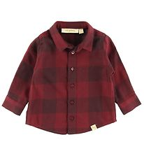 Soft Gallery Shirt - Severin - Red Checkered