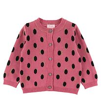 Noa Noa Miniature Cardigan - Knit - Art Rose w. Dots
