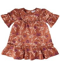 Noa Noa Miniature Dress - Brown w. Flowers
