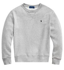 Polo Ralph Lauren Sweatshirt - Grey Melange with logo