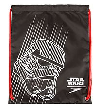 Speedo Gymsack - Starwars Wet Kit Bag - Black w. Darth Vade