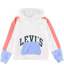 Levis Hoodie - Color Block - White/Pastel
