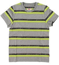 Levis T-shirt - Gray w. Stripes