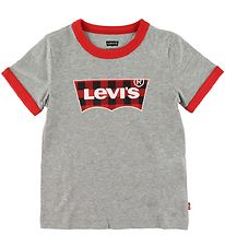 Levis T-shirt - Grey w. Logo