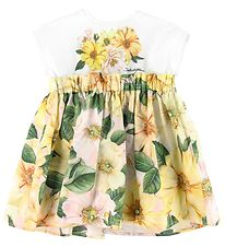 Dolce & Gabbana Dress w. Bloomers - Power Pastel - Yellow w. Flo