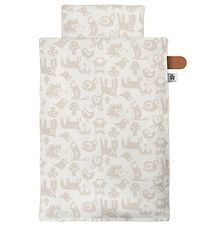 Sebra Bedding - Baby - Forest - Straw Beige