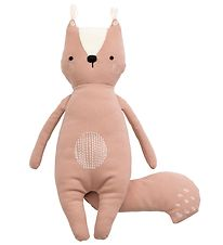 Sebra Soft Toy - Squirrel Zappy - 36 cm - Misty Rose