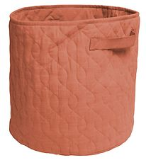 Sebra Storage Basket - Quilted - 48 l - Sweet Tea Brown