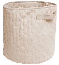 Sebra Storage Basket - Quilted - 48 l - Straw Beige