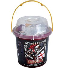 Wild Republic Bucket w. Toys - 26 pcs. - Knights