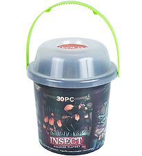 Wild Republic Bucket w. Animals - 30 pcs. - Insects