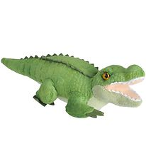 Wild Republic Soft Toy w. Sound - 26x9 cm - Crocodile