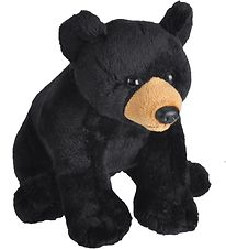 Wild Republic Soft Toy - 14x14 cm - Black Bear