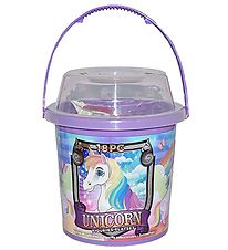 Wild Republic Bucket w. Animals - 18 pcs. - Unicorns