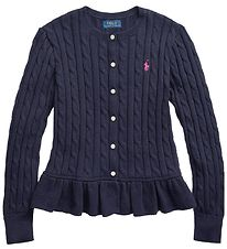 Polo Ralph Cardigan - Knitted - Classics - Navy