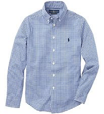 Polo Ralph Lauren Shirt - Core Replen - Blue/White Checkered
