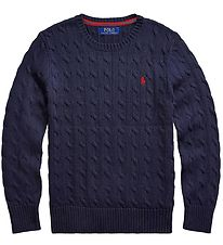 Polo Ralph Lauren Blouse - Knitted - Classics - Navy
