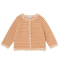 Mini A Ture Cardigan - Knitted - Viona - Apricot Gelato