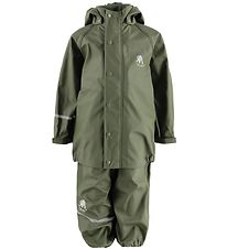CeLaVi Rainwear - PU - Army Green
