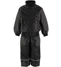Mikk Line Thermo Set w. Fleece - Black
