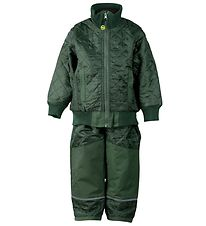 Mikk-Line Thermo Set - w. Fleece - Army Green