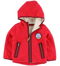 Color Kids Fleece Jacket - Sabalo - Red