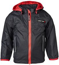 Lego Tec Lightweight Jacket - Charcoal w. Red