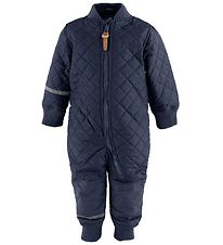 CeLaVi Thermo Suit w. Fleece - Coated - Navy