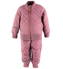 CeLaVi Thermo Set w. Fleece - Coated - Rose