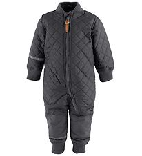 CeLaVi Thermo Suit w. Fleece - Coated - Charcoal