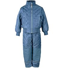 Mikk-Line Thermo Set w. Fleece - Petrol