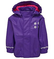 Lego Wear Rain Jacket - Purple