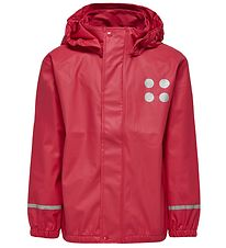 Lego Wear Rain Jacket - Dark Pink
