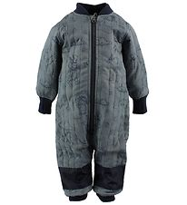 En Fant Thermo Suit - Blue w. Print