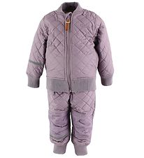 CeLaVi Thermo Set w. Fleece - Coated - Dusty Lavender