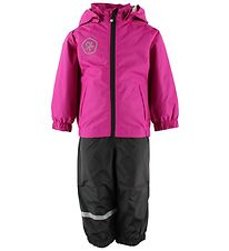 Color Kids Rainwear - Tallis - PE - Fuchsia/Black